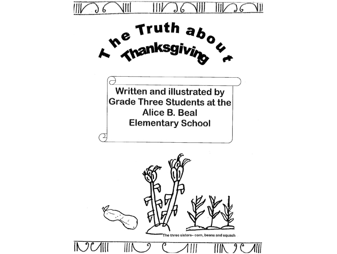 beal mortex coloring pages | The Truth about Thanksgiving - Coloring Book | Models of ...