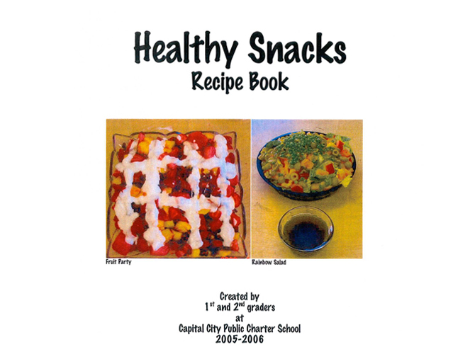 Healthy snacks recipe book models of excellence forumfinder Gallery