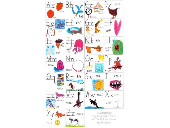 alphabet poster models of excellence. Black Bedroom Furniture Sets. Home Design Ideas