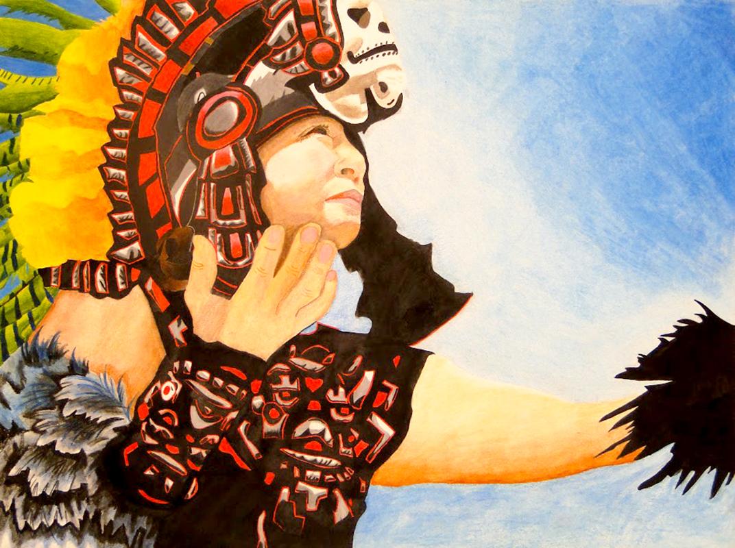 Aztec Indian Portraits | Models of Excellence | 1072 x 800 jpeg 817kB