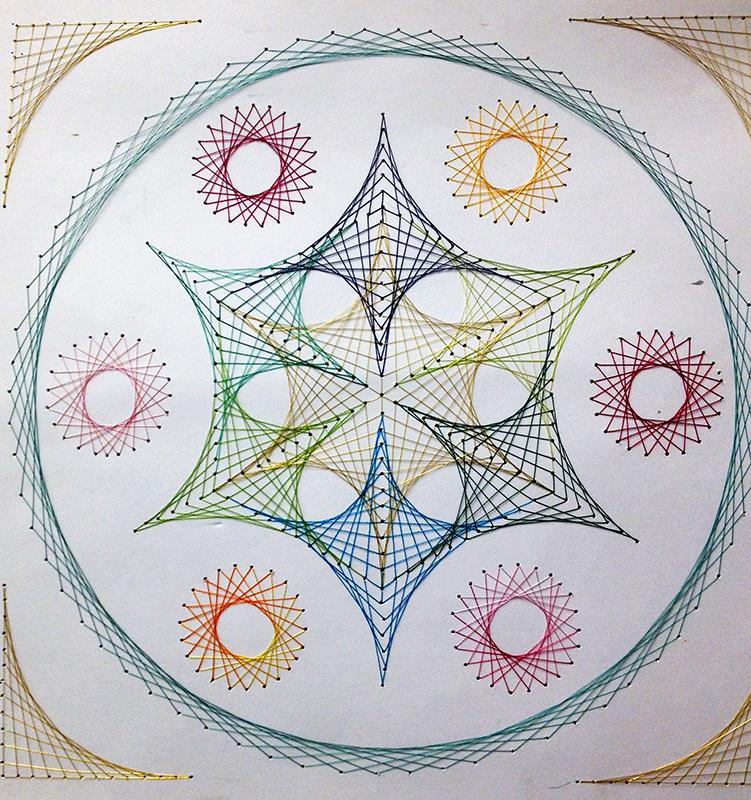 Geometric Circle Art Projects