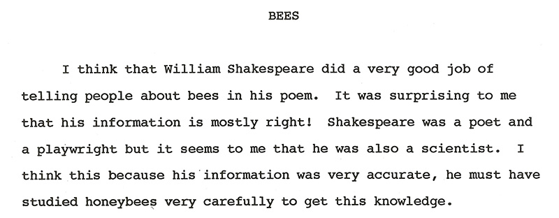how to write an essay about shakespeare You how to write a good shakespeare essay could also write a thesis that disagrees with this one and that would be good too for you to write good topic sentences.