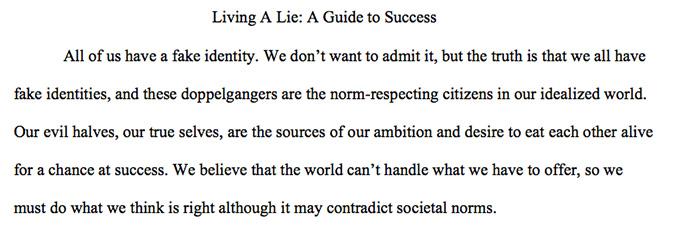 Quality rhetoric essay writing