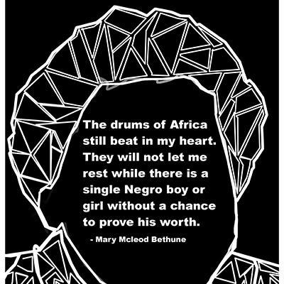 Black History Geometric Portraits