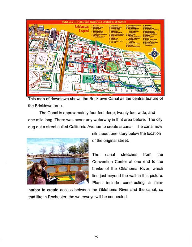 6th grade Rochester position paper waterway project canal