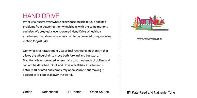 Wheelchair Hand Drive 1