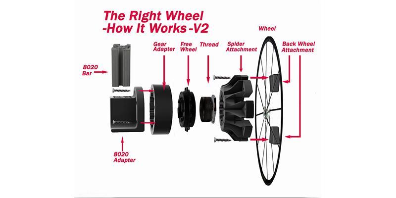 Wheelchair Hand Drive 7