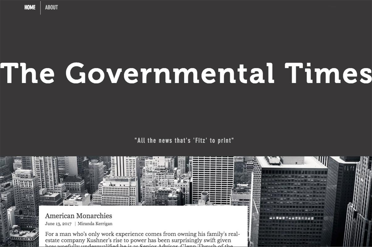 Governmental Times 1