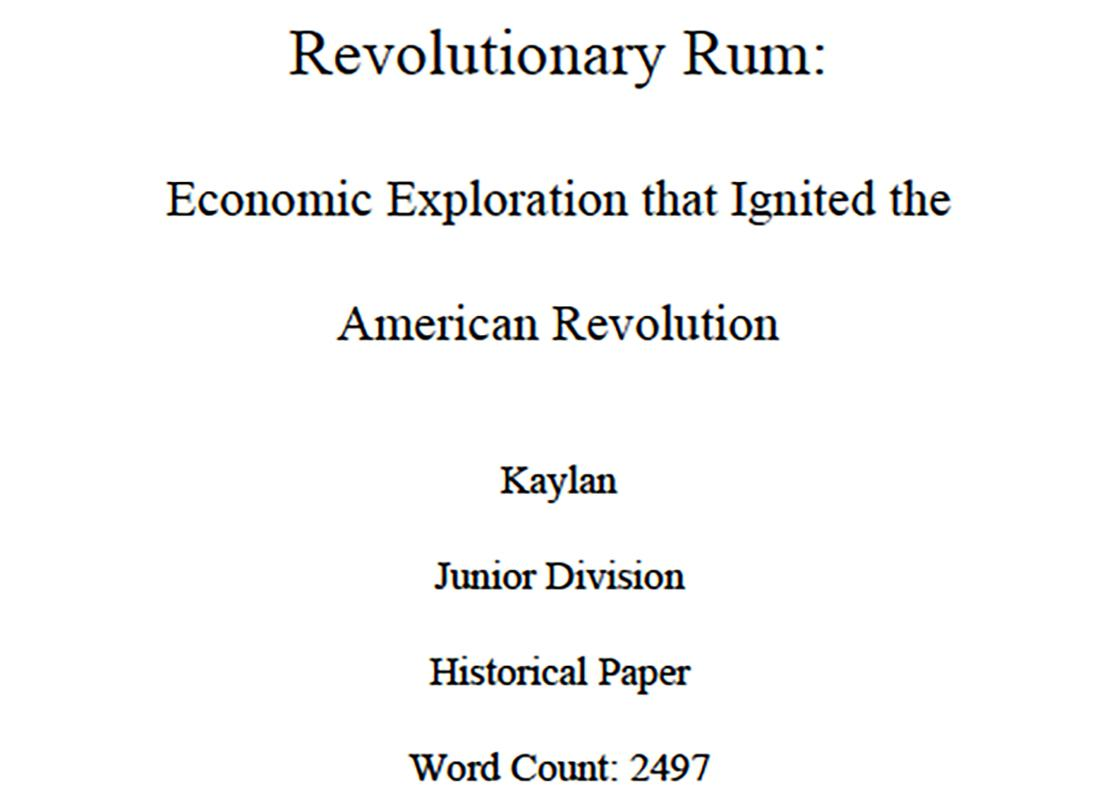 Revolutionary Rum